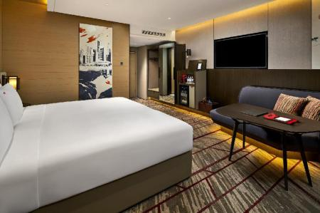 Swiss Executive - Room plan Swissotel The Stamford Hotel