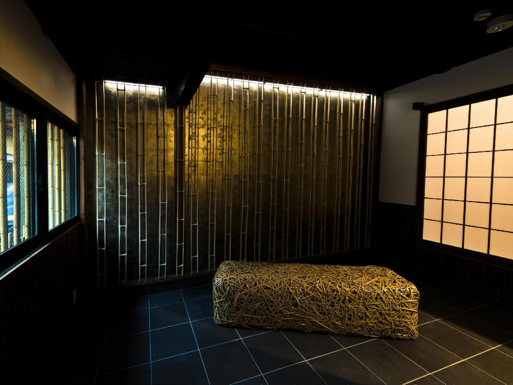 Machiya - Rumah Tradisional Bergaya Jepang - Tampilan interior (Legal)Very close to downtown  Bamboo Shiratake-an