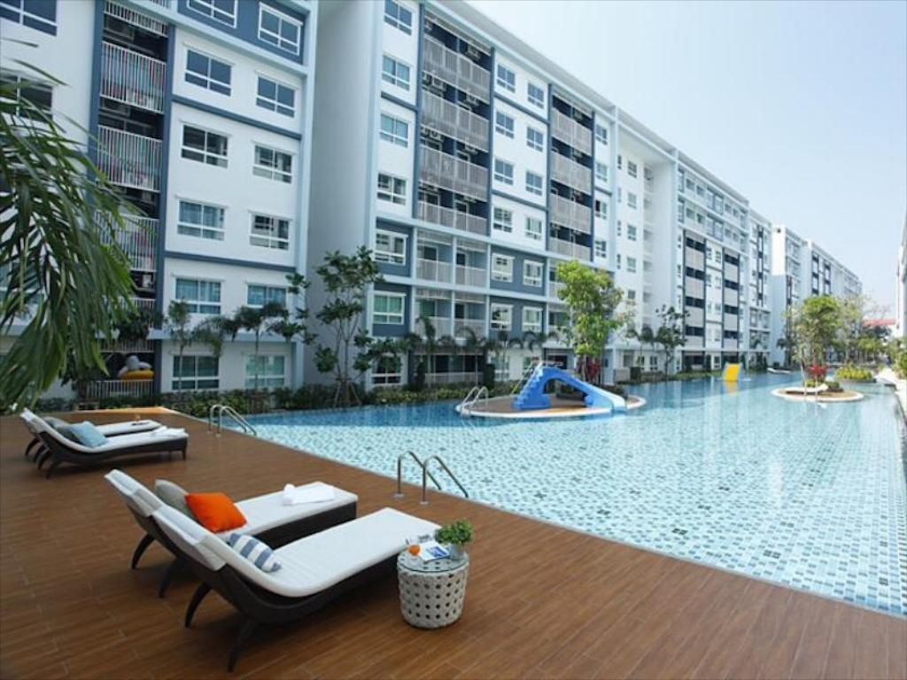 Kolam renang The Trust Condo Hua Hin 2 Bedroom