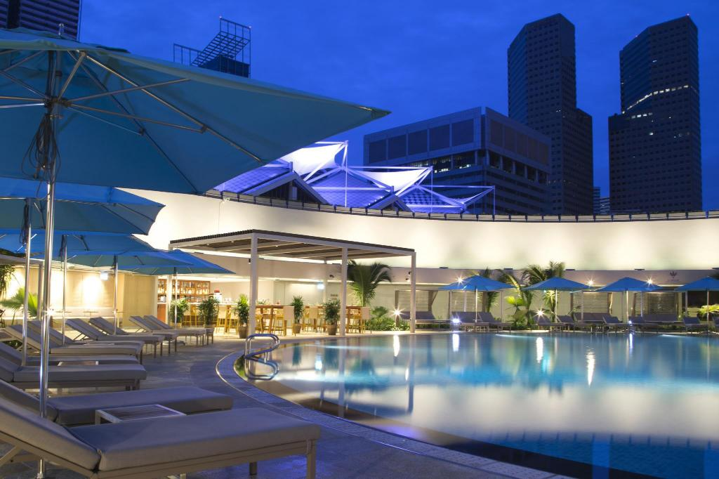 Kolam renang Pan Pacific Singapore