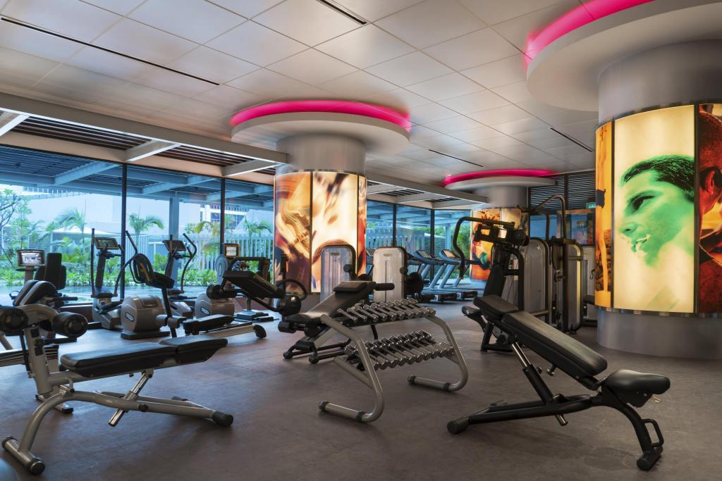 Fitnesscenter Pan Pacific Singapore