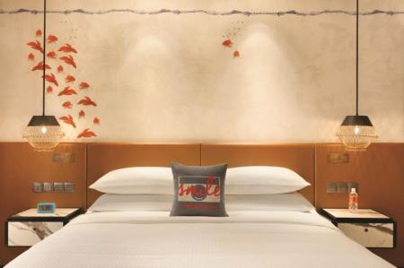Deluxe Room Hotel Jen Tanglin Singapore by Shangri-La