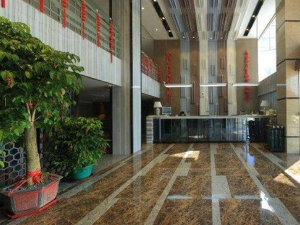 Lobby GreenTree Inn Fujian Fuzhou Software Park River View Business Hotel