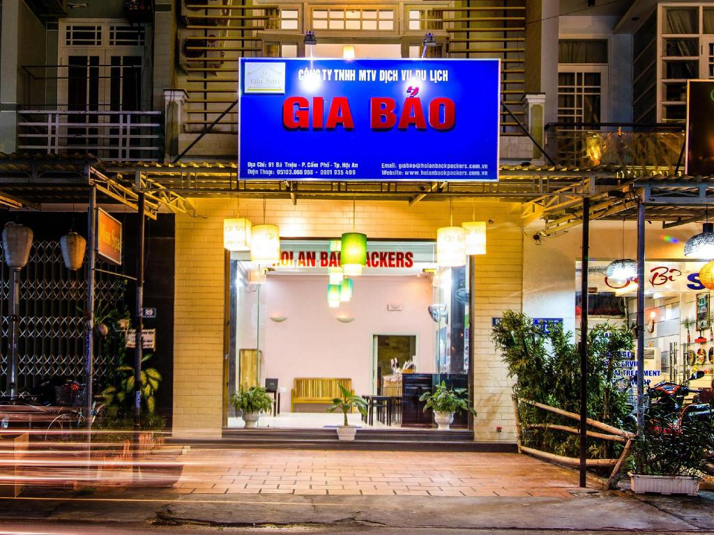 Vista exterior Gia Bao Hoi An Backpacker