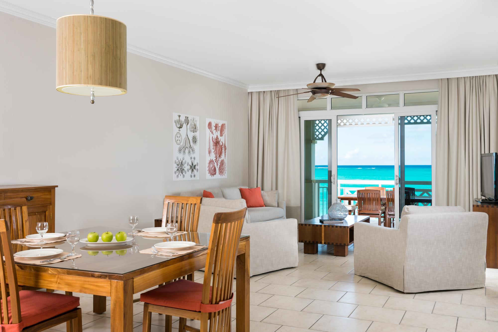Two Bedroom Beachfront King Suite