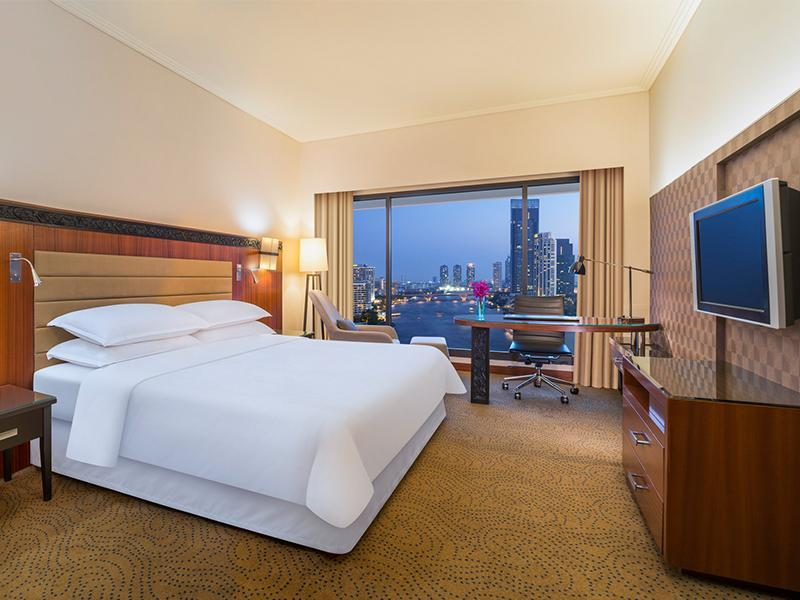 Premium Deluxe, Guest room, 1 King, River view