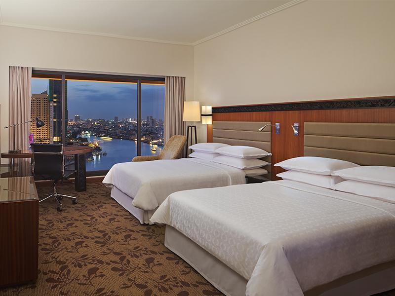 Premium Deluxe (Double), Guest room, 2 Double, River view