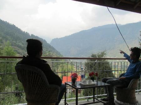 Vestíbul Manali top Inn & Cafe
