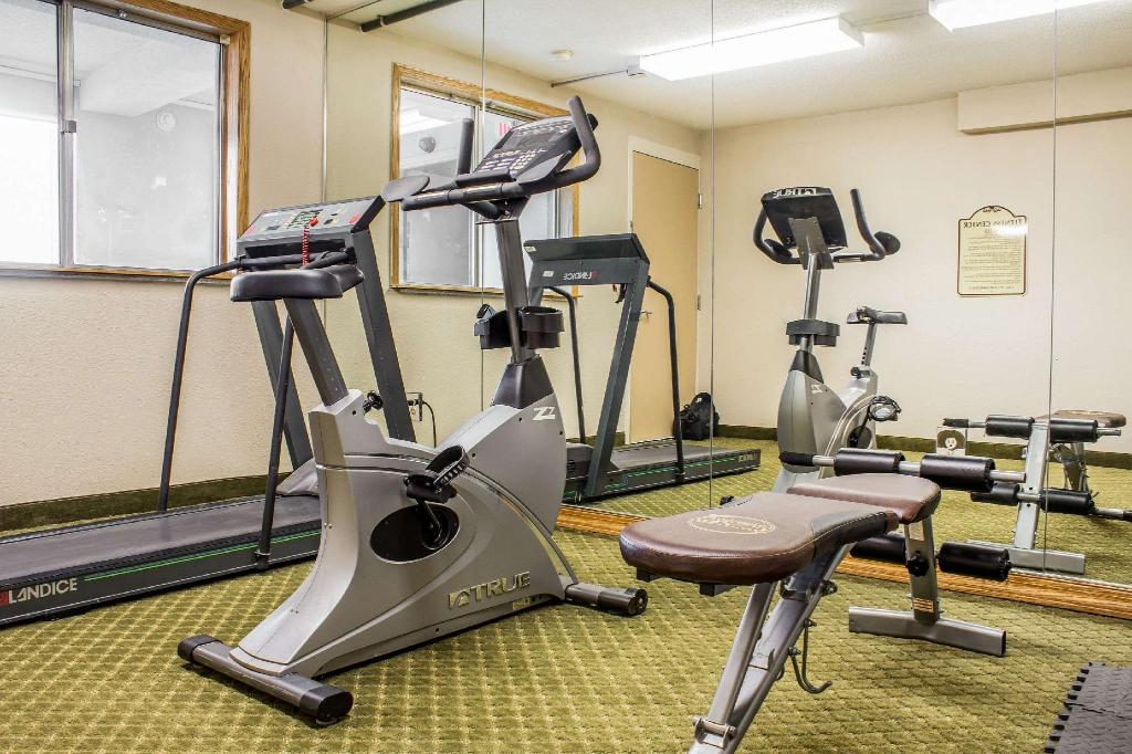 Fitnesa centrs Quality Inn and Suites Moline - Quad Cities