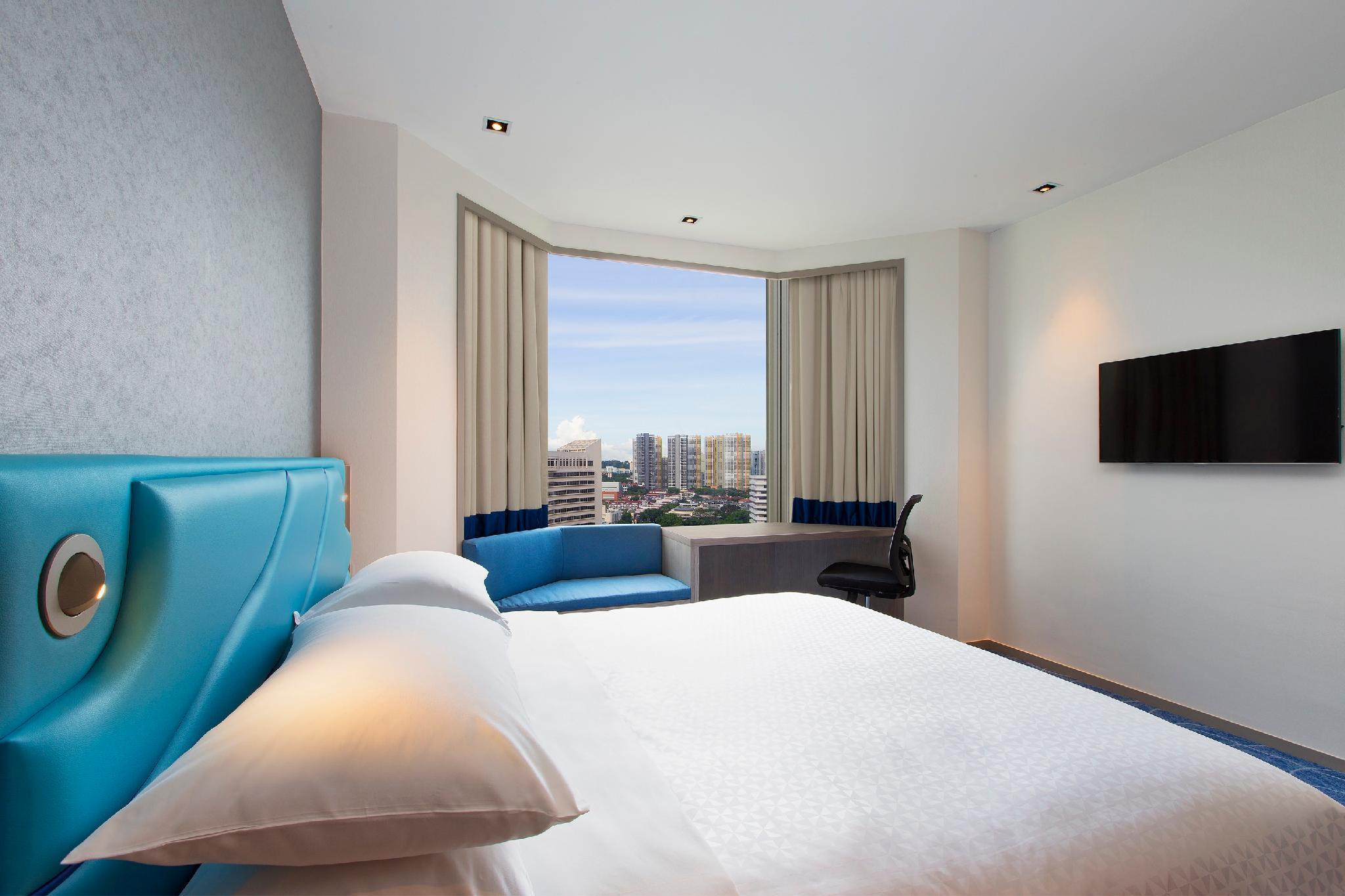 市景豪華房(特大床) (Deluxe, Guest room, 1 King, City view)