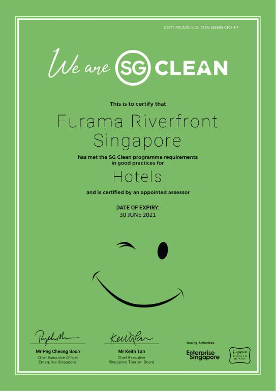 スーペリア - 設備 Furama RiverFront (SG Clean Certified)