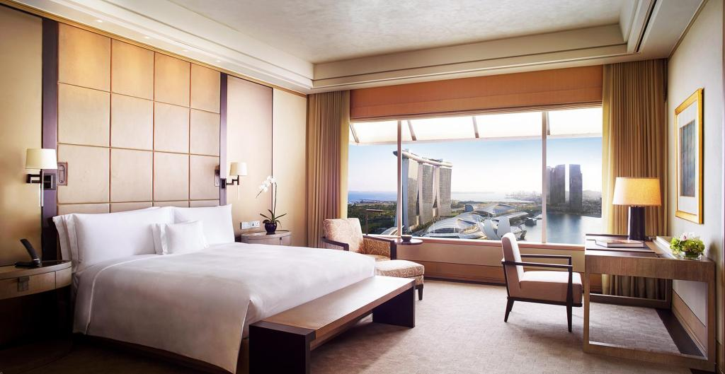 The Ritz Suite, Club level, 2 Bedroom Presidential Suite - Cama The Ritz-Carlton, Millenia Singapore