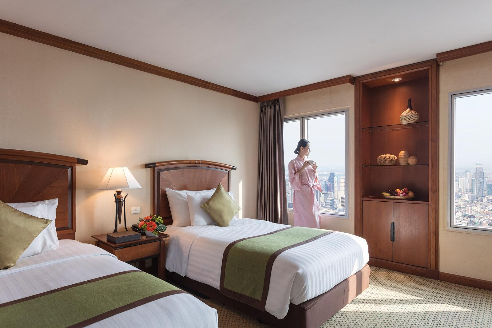 Ladies' Deluxe Twin Room