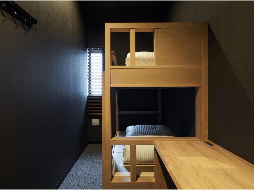 Private Bunk Bed Room (For 1 guest) *No shower or toilet in room - Guestroom 9C Hotel Asahikawa