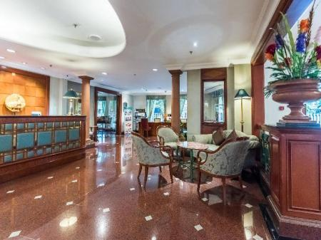 大堂 長榮桂冠酒店 曼谷 Evergreen Laurel Hotel Sathorn Bangkok (Evergreen Laurel Hotel)