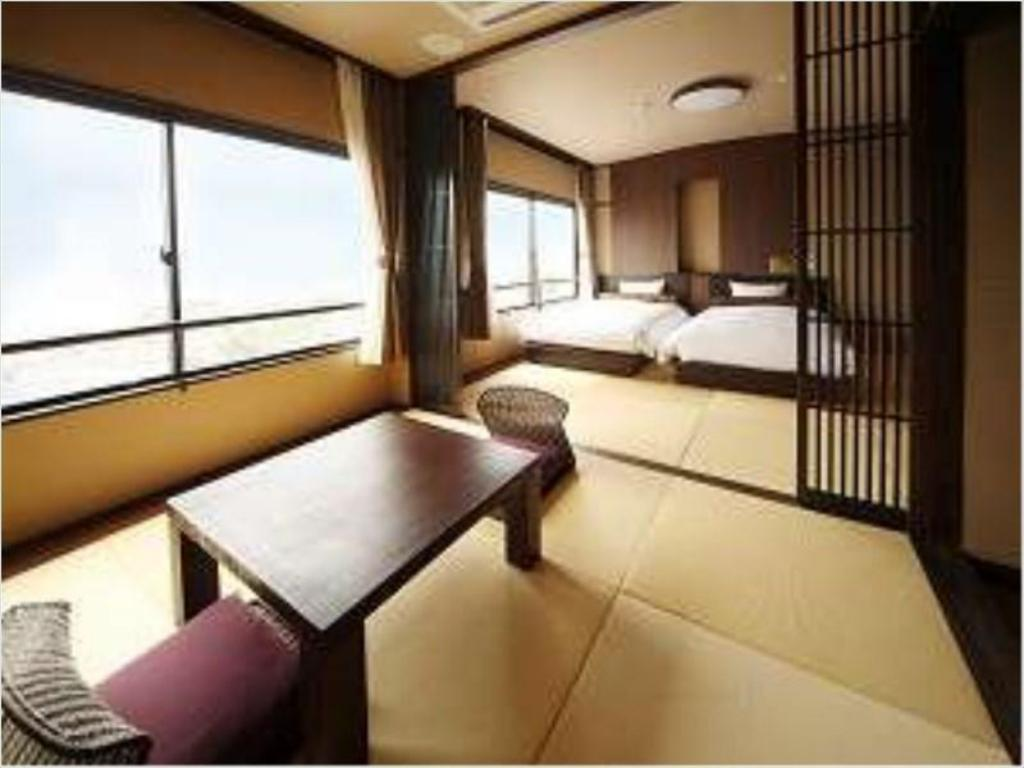 Japanese/Western-style Room (Twin Beds) - ห้องพัก