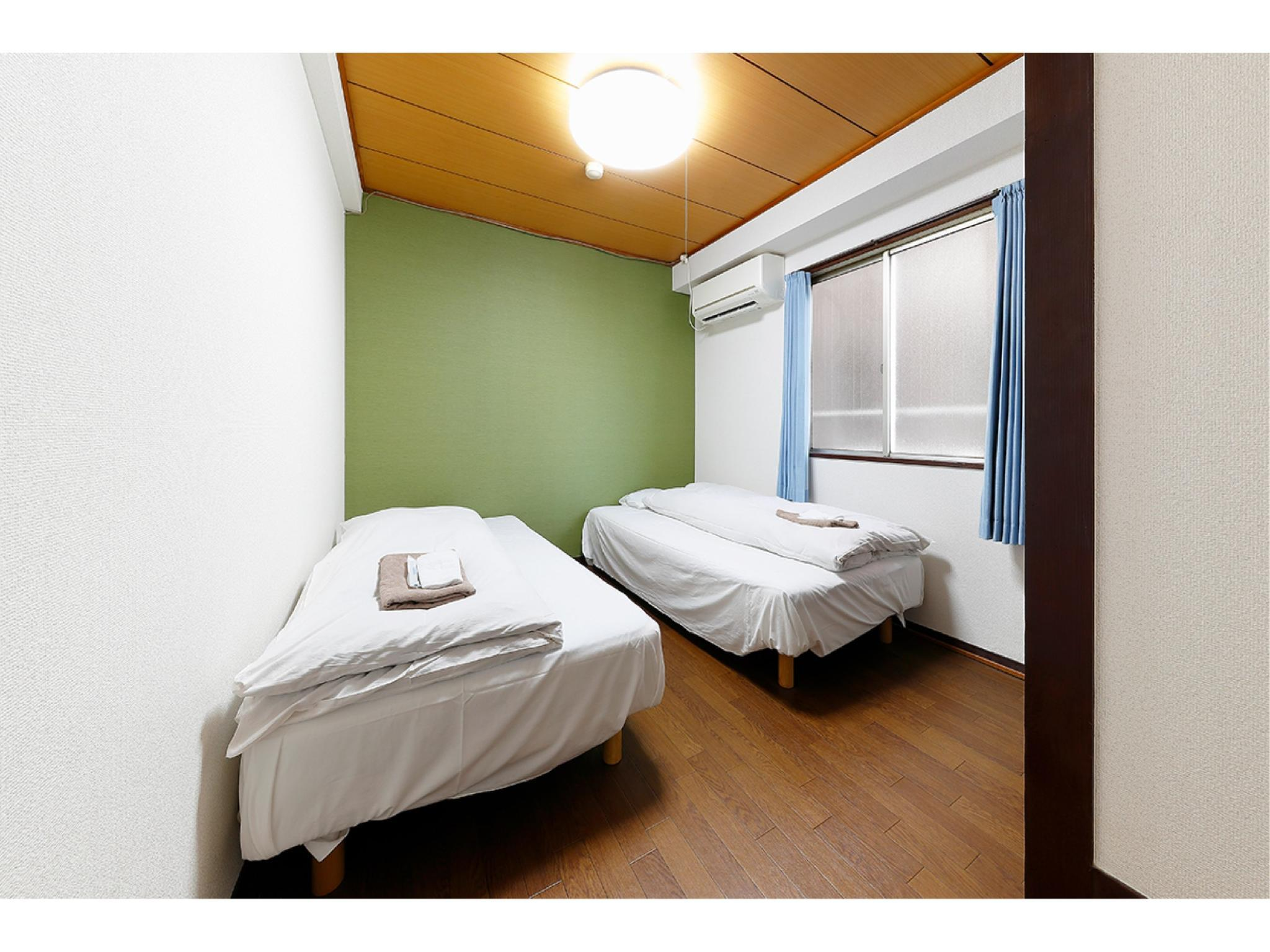 ■エコノミーツイン☆一番人気☆■和室または洋室(指定不可) (Economy Twin Room (Japanese-style Room or Western-style Room) *Allocated on arrival)
