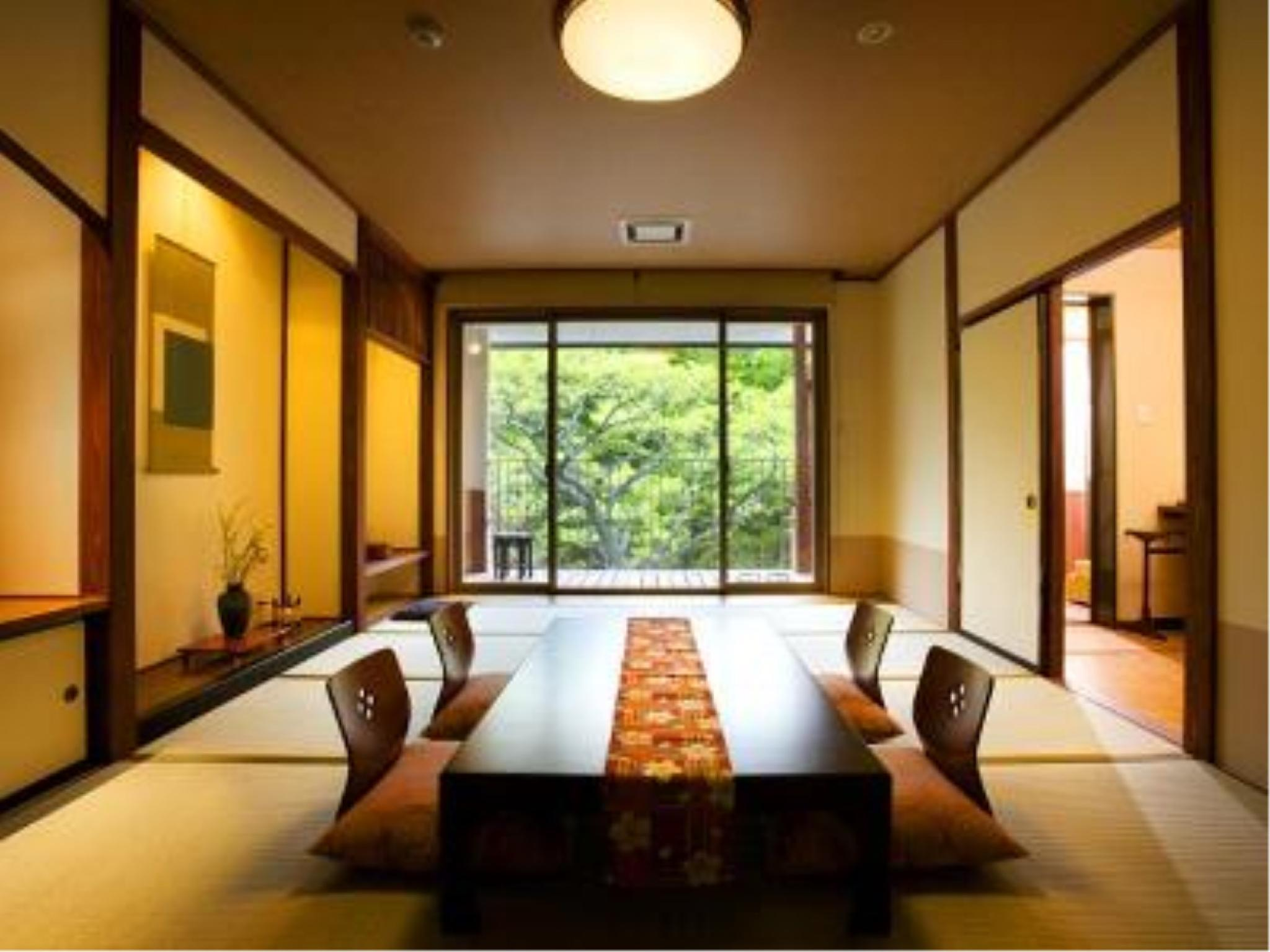 Japanese-style Room with Open-air Bath (Aya-no-Ne Wing)