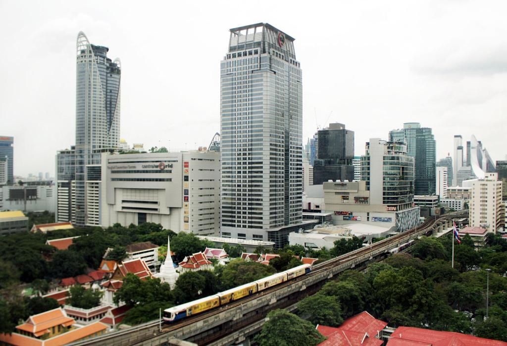 Executive Premier Verdieping met 1 Kingsize Bed - Uitzicht Novotel Bangkok On Siam Square Hotel