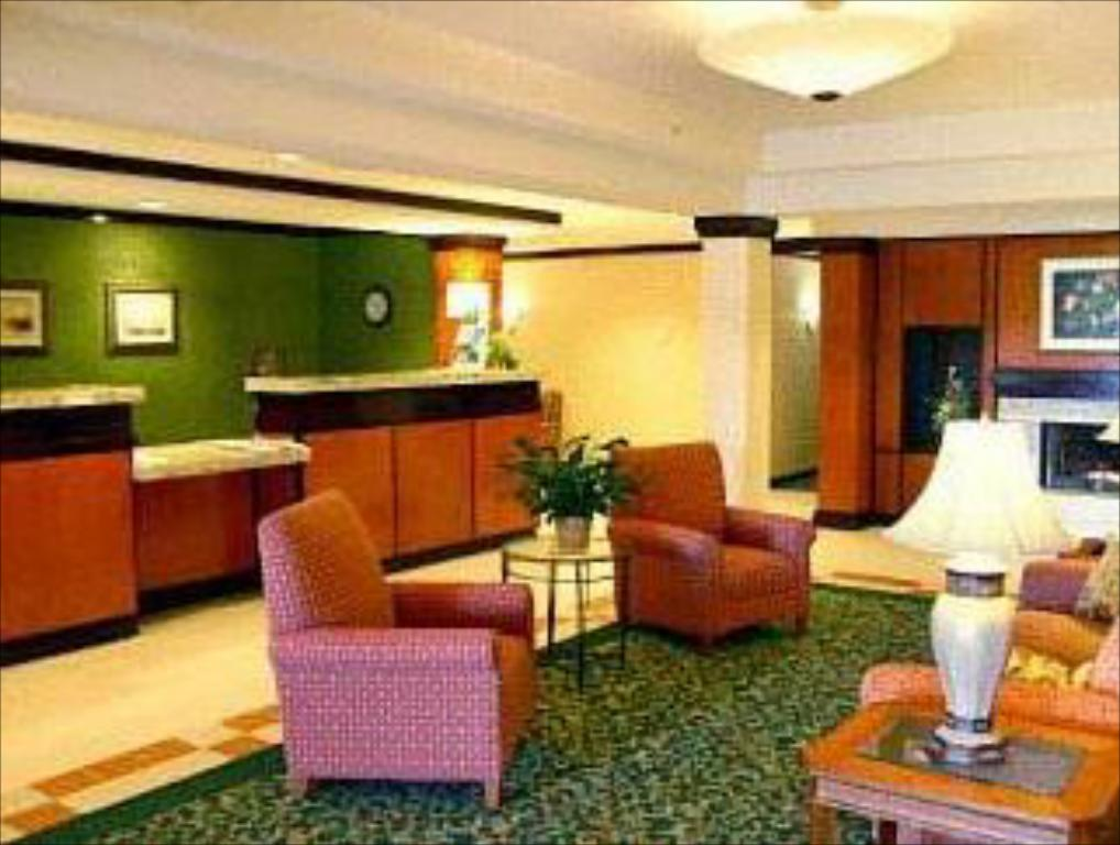 Vstupní hala Fairfield Inn & Suites Brunswick Freeport