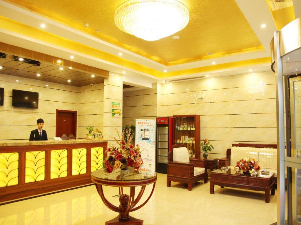 Lobby GreenTree Inn Jiangsu Suzhou Dongfang Avenue Financial City Express Hotel
