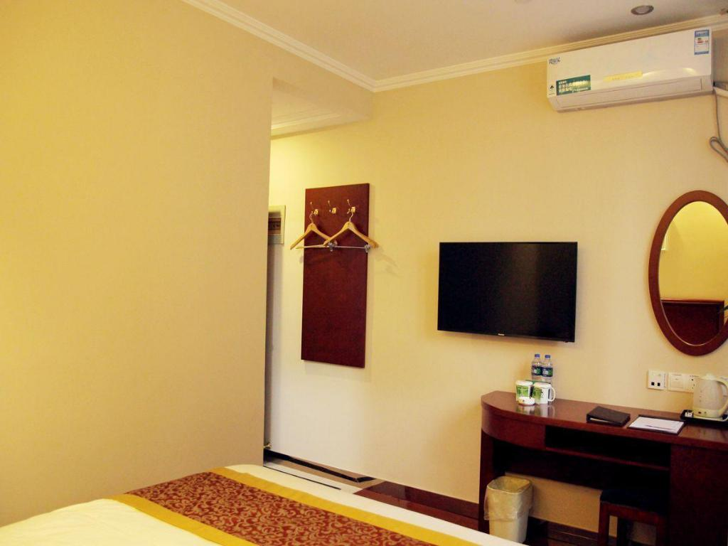 King Room - Guestroom GreenTree Inn Jiangsu Suzhou Dongfang Avenue Financial City Express Hotel