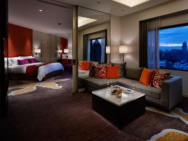 Suite Junior dengan Ranjang King (Junior Suite with King Bed)