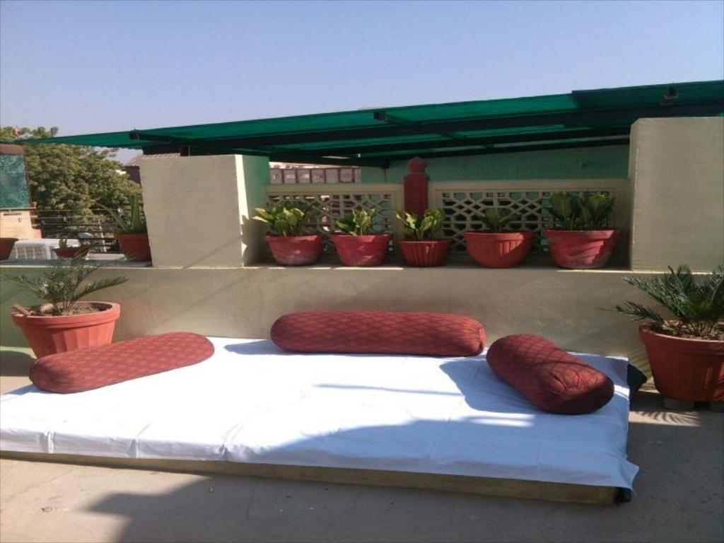 Balcony/terrace Jodhpur Home Stay