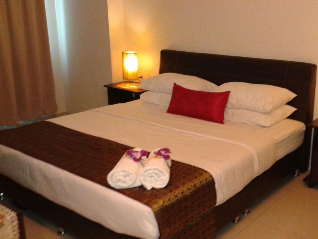 Bed Kinta Riverview  Vacation Apartment