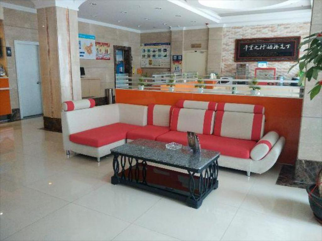 Vestíbul 7 Days Inn Xiamen Railway Station Jinbang Road Branch