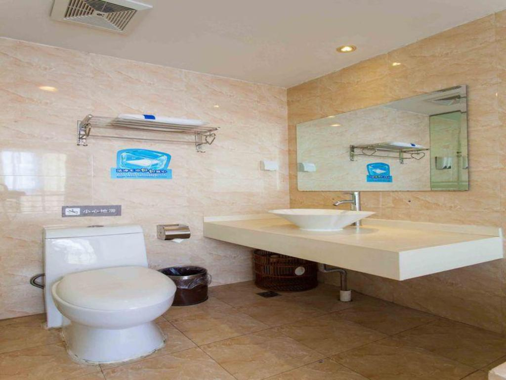Bathroom 7 Days Inn Nanchang Changbei Jxufe Second Branch