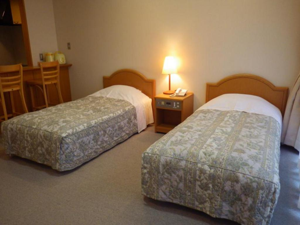 Twin - Bed Gokan Resort Ushidake