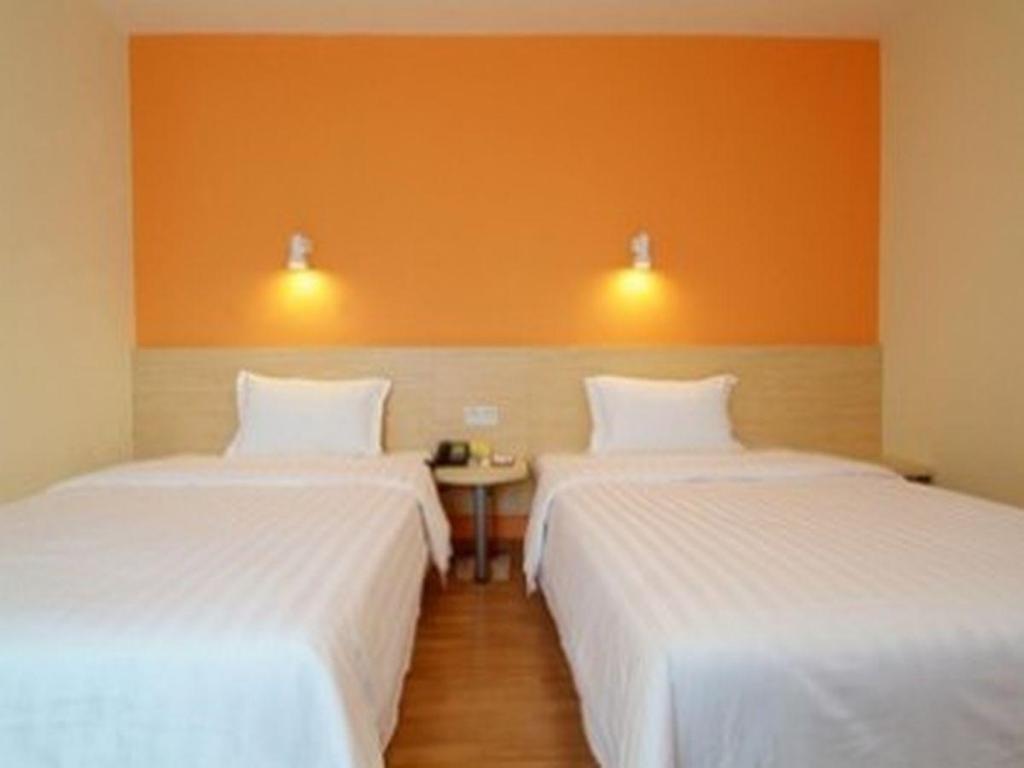 Twin - Tempat tidur 7 Days Inn Yuxi Central Bus Station Taobao Xiaochi Street Branch