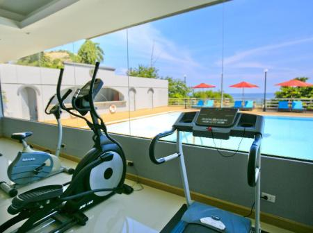 Fitness center Blue Wave Hotel Hua Hin