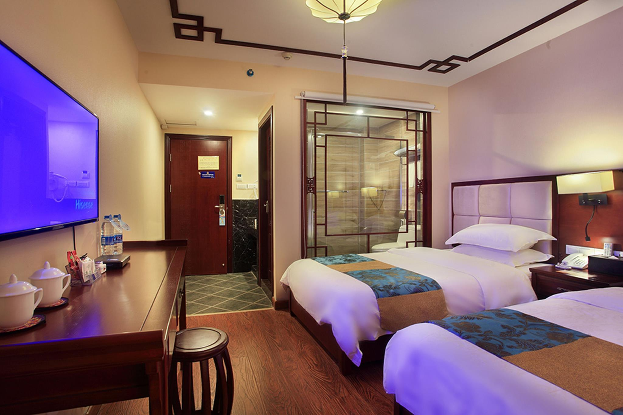 Ranjang Twin Pemandangan (View Twin Bed)