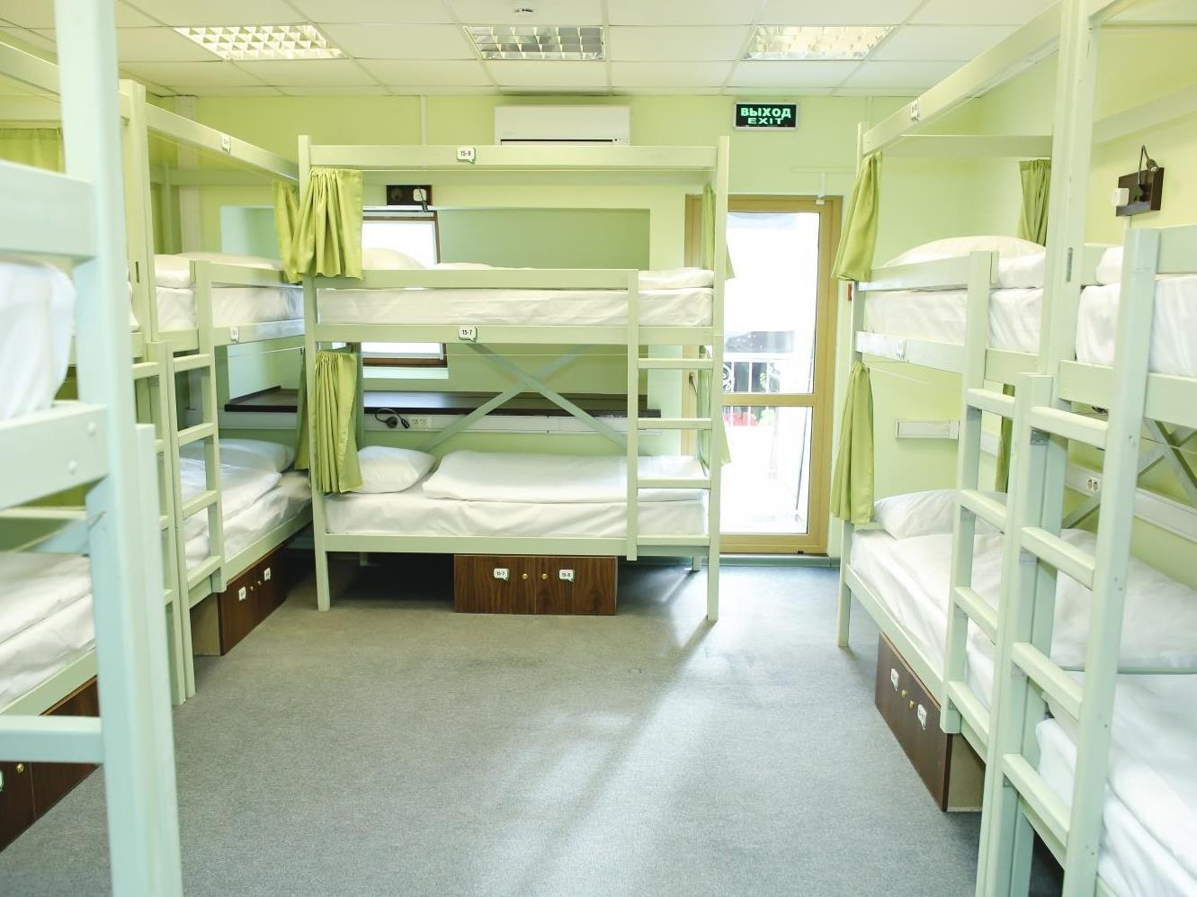 Bed in 12-Bed Mixed Dormitory