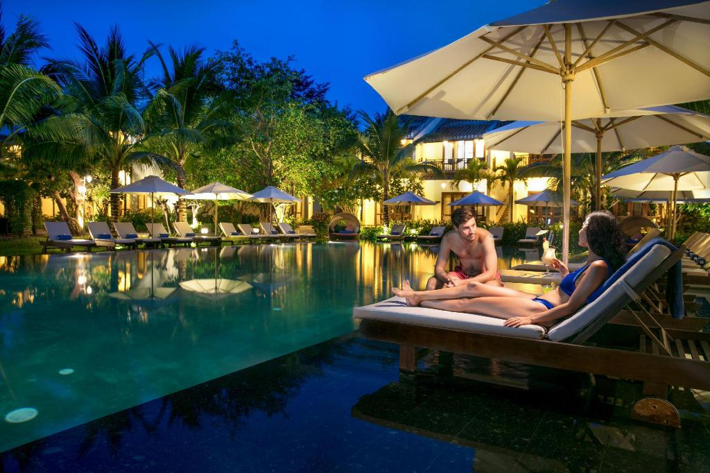 Αίθουσα υποδοχής Hoi An Silk Village Resort and Spa