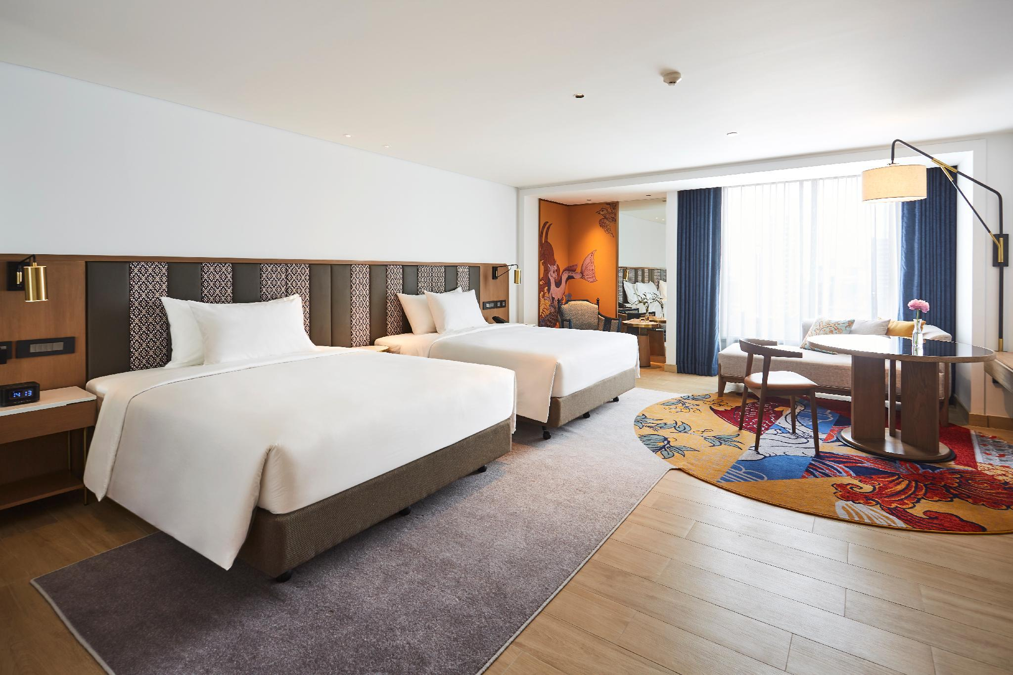Premier Deluxe Room Two Double Beds