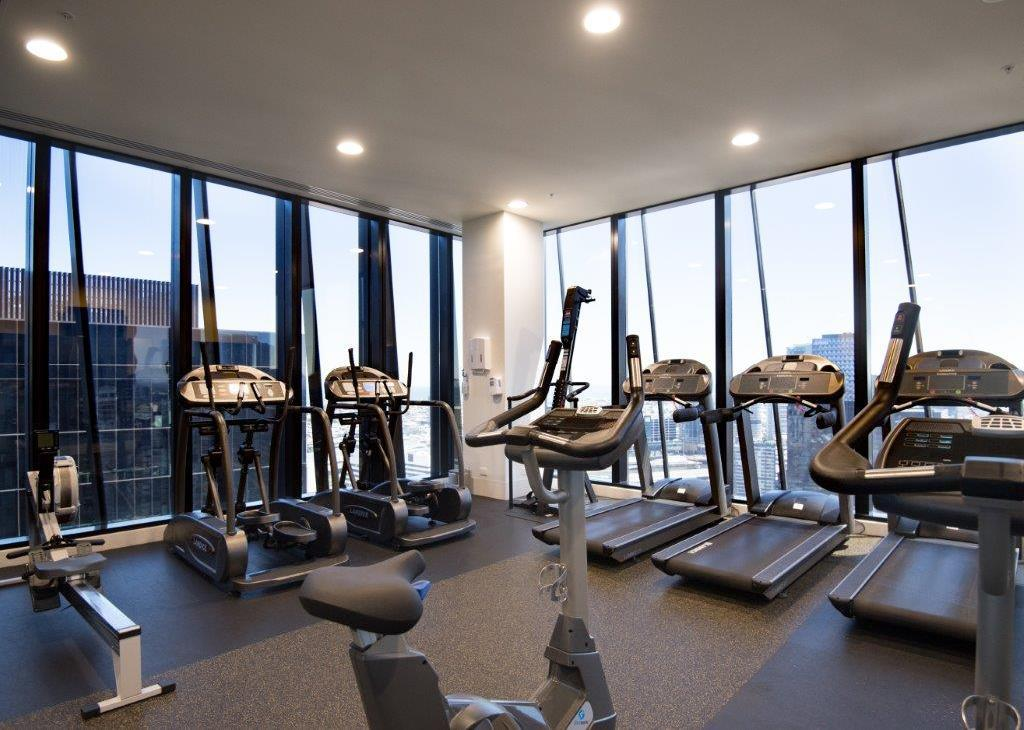 fitness centrum Apartments of Melbourne Collins Street