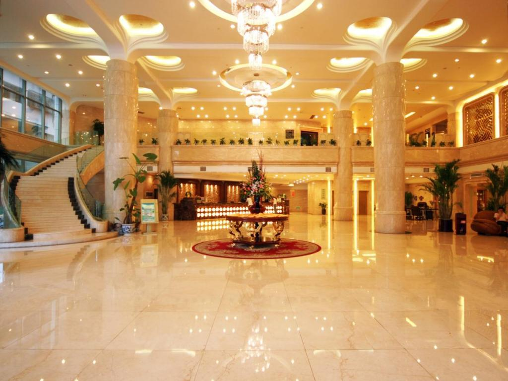 Lobi Nanchang Galactic Peace International Hotel
