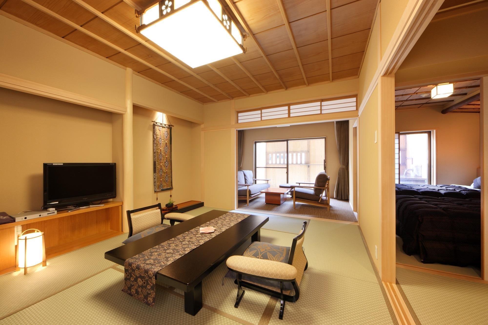 Hachibankan Japanese Style Room with Open-Air Bath - Smoking