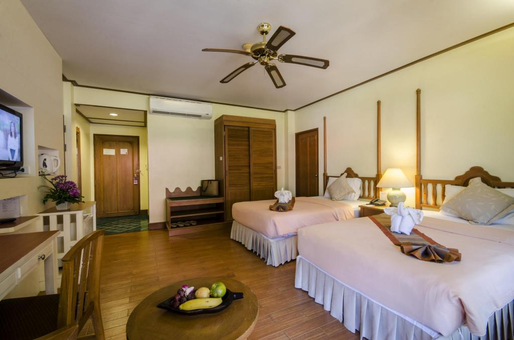Superior Twin - Room plan Vogue Resort and Spa Ao Nang