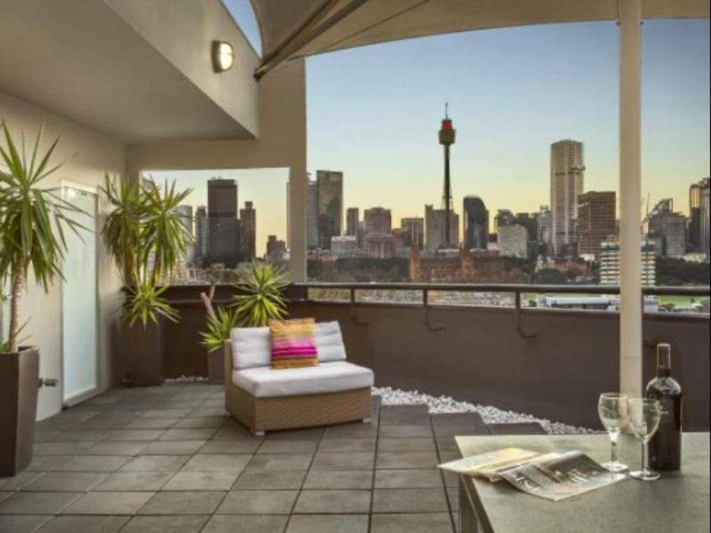 Balcony/terrace Quest Potts Point Hotel