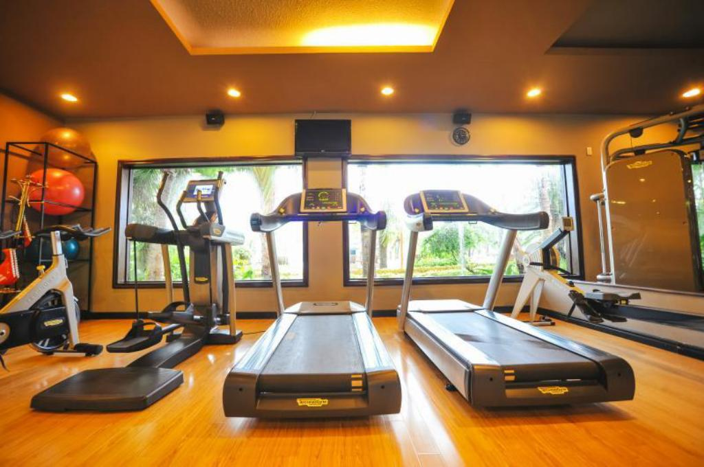 fitness centrum Diamond Bay Resort & Spa