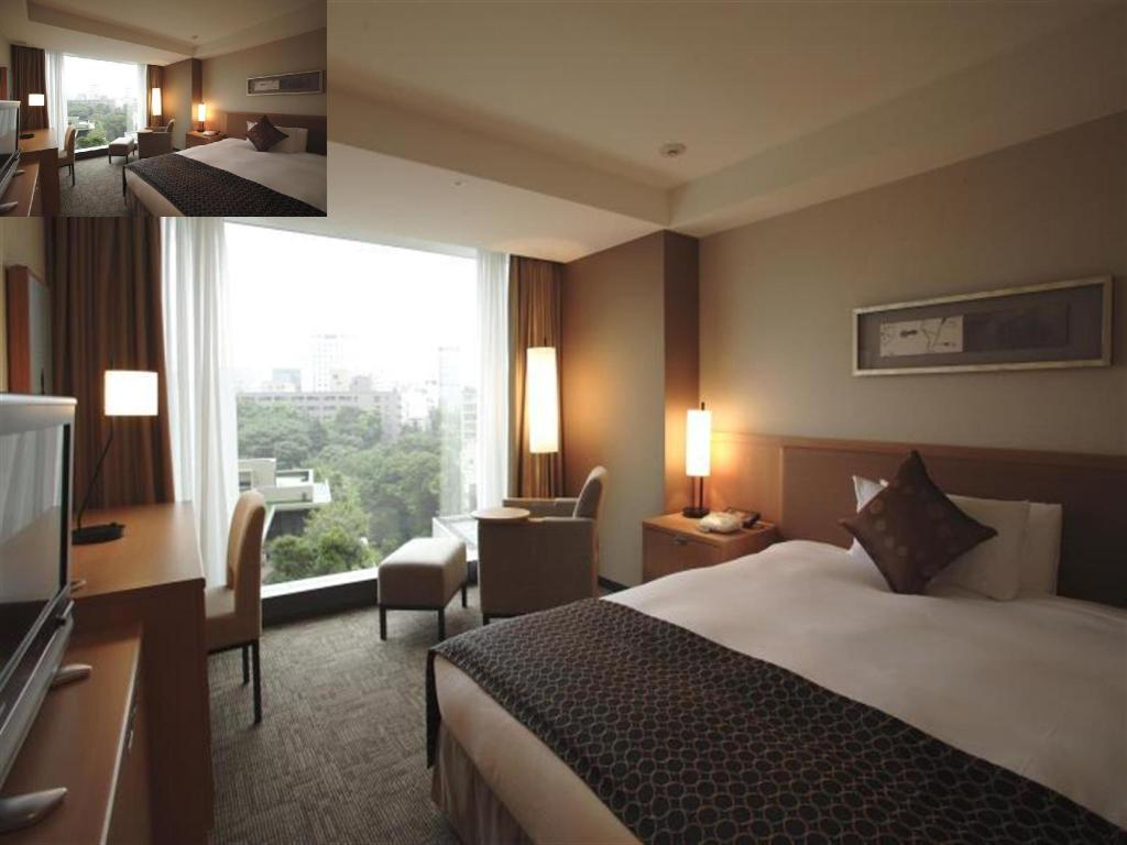 Kamar Business Single - Kamar tidur Hotel New Otani Tokyo The Main