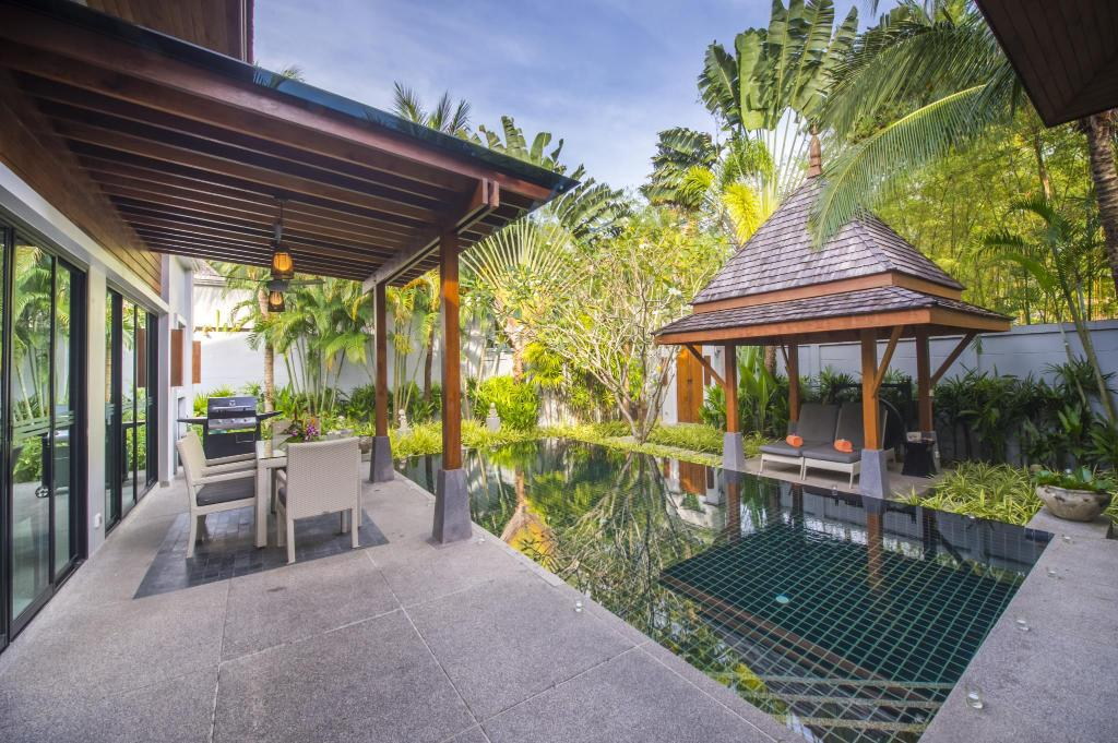 Bazén The Bell Pool Villa Resort Phuket
