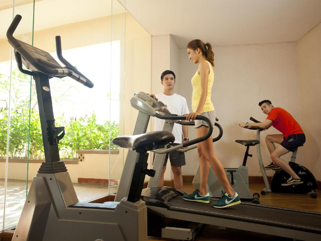 fitness centrum Jomtien Palm Beach Hotel And Resort