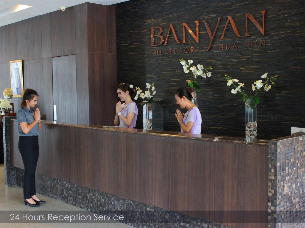 Lobby Banyan The Resort Hua Hin