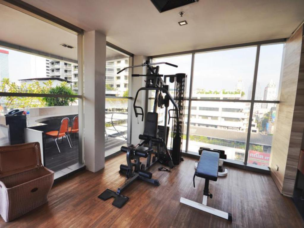 Fitness center The Heritage Silom Hotel