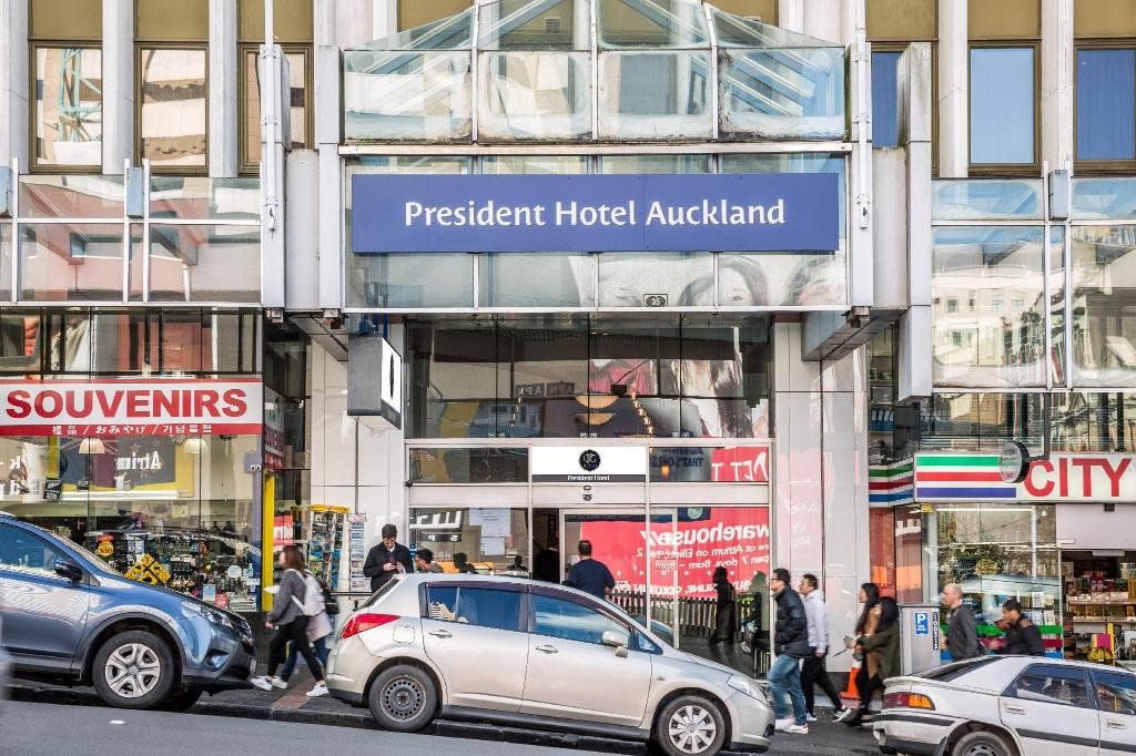 Corporate Studio President Hotel Auckland